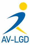 Logo van de sportvereniging AV LGD uit Deurne